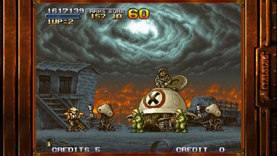 Screenshot from METAL SLUG 2