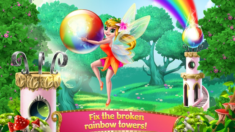 Princess Fairy Rush - Pony Rainbow Adventure