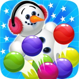 Ice Bubble Shooter Snowman