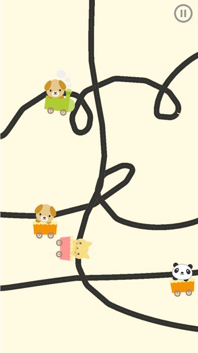 どうぶつ電車 - いろんな動物の電車を走らせよう【子供が喜ぶ知育アプリ】のおすすめ画像1