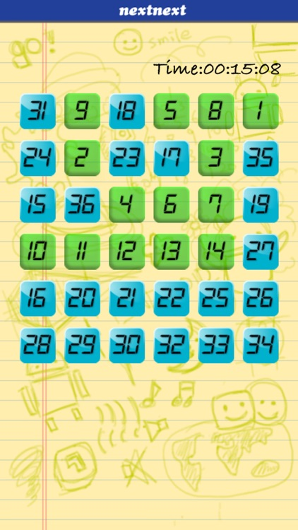 Touch Number In Order - Brain Training