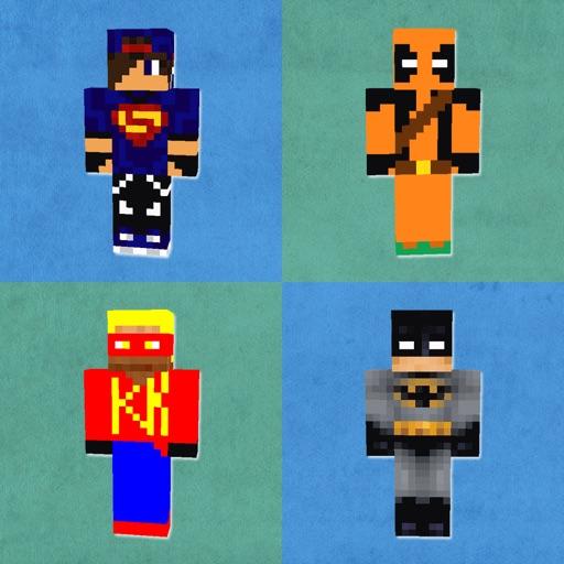 HD SuperHero Skins Lite - Best Skins for Minecraft PE & PC