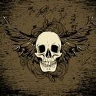 成人著色頁頭骨圖案免費 icon