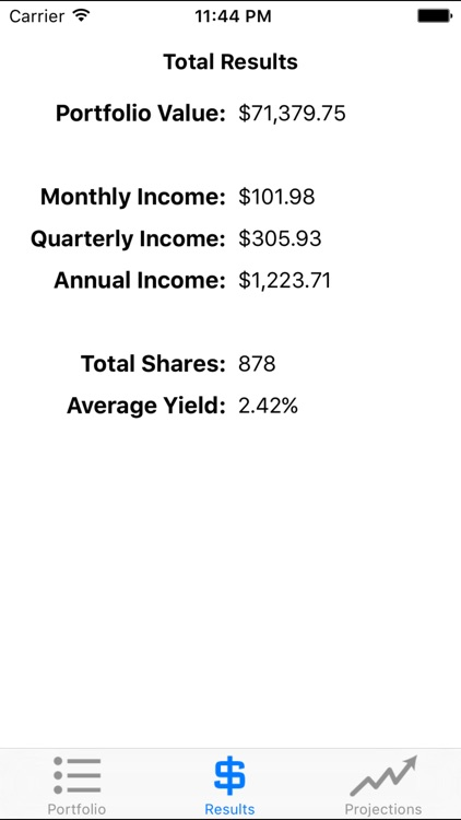 Dividender - Compound Interest Calculator for DRIP & Dividend Stock Portfolios