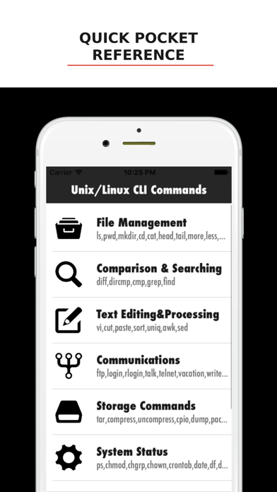 Unix/Linux CLI Commandsのおすすめ画像1