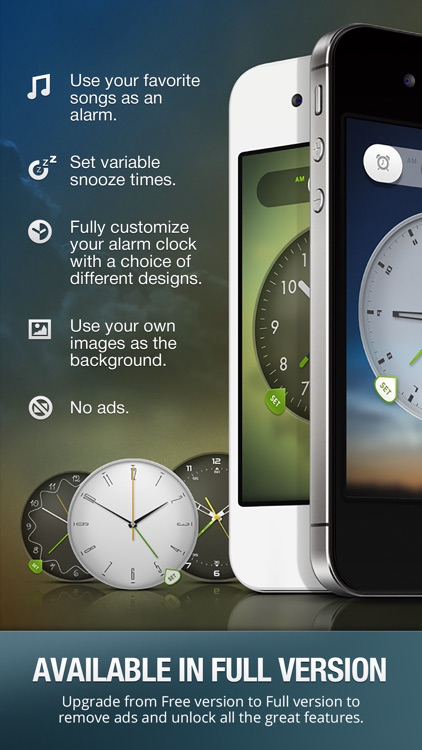 Alarm Clock Free Wake Up Time -Alarm Clock, Alarm Clock Free, Alarm Clock Sounds, Wake Up Alarm screenshot-4