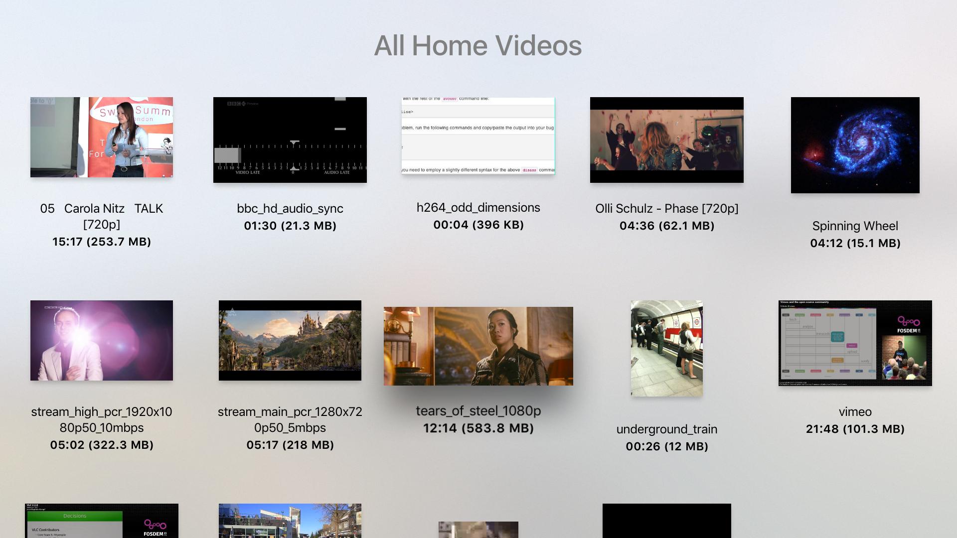 VLC for Mobile screenshot 14