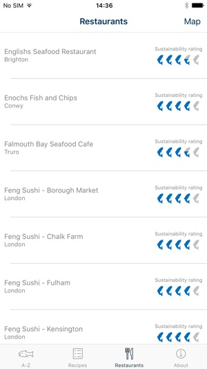 Good Fish Guide by the Marine Conservation Society on the App Store