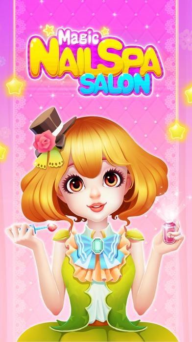 Magic Nail Salon: Girls Makeover Games screenshot one