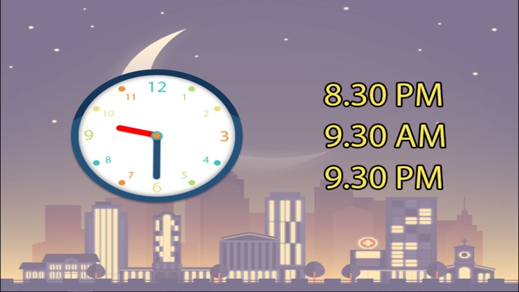 Learn to tell time with analog clock that suits for kids