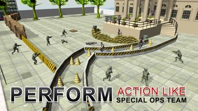 陸軍シューター社長の救助 - 極端な射撃シミュレーターのゲームのスクリーンショット4