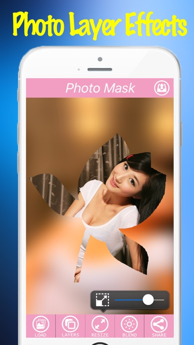 Photo Layer Effects Free App - Mask charlotte Filter Effect On Camera Photos-1