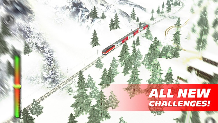 Train Driver Journey 8 - Winter in the Alps screenshot-3