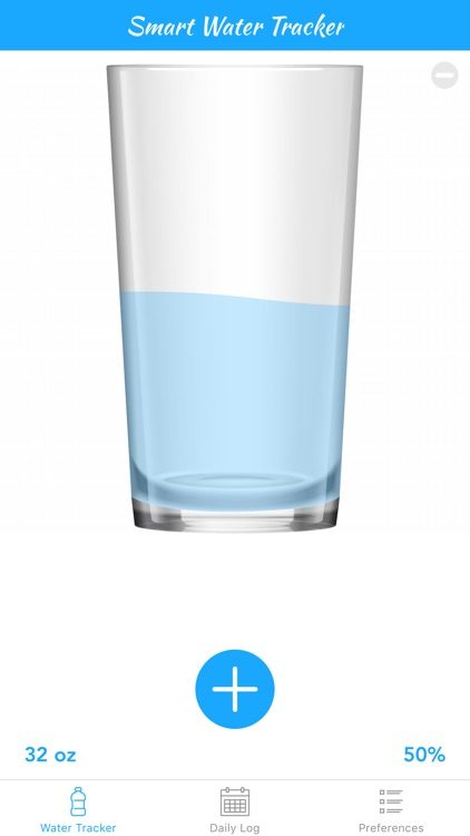 Smart Water Tracker - Daily Counter, Reminder, & Log