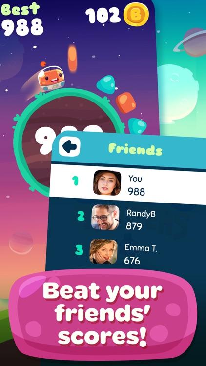 Glob Trotters - Endless Arcade Blobber screenshot-3