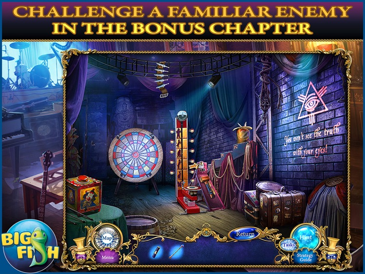 Dangerous Games: Illusionist HD - A Magical Hidden Object Mystery (Full) screenshot-3