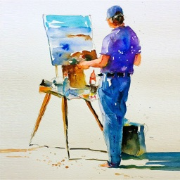 Learn Watercolour Painting Techniques