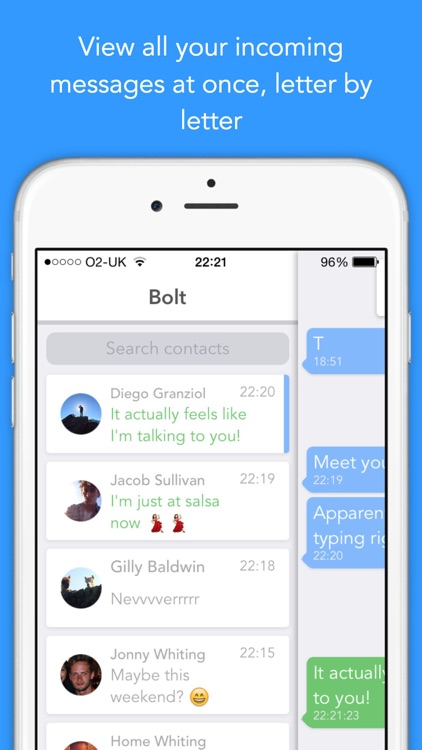 Bolt - Real time live messaging