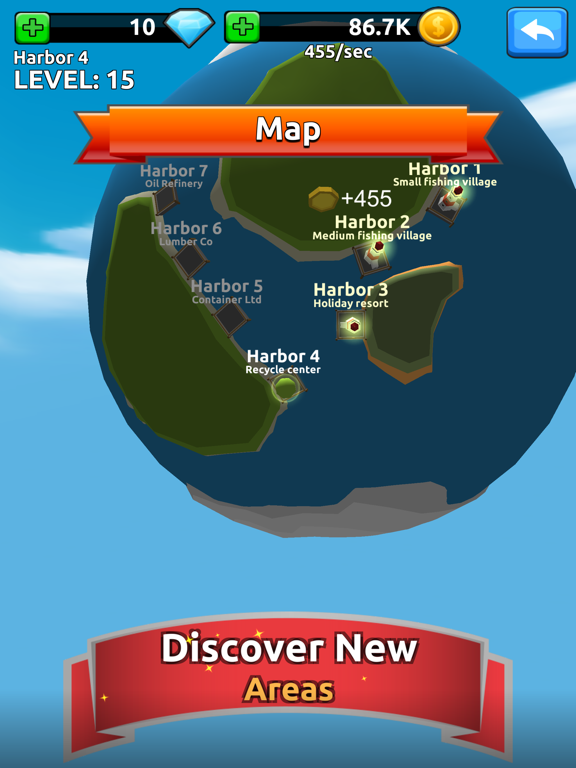 Harbor Tycoon Clicker by Softcen (iOS, United States