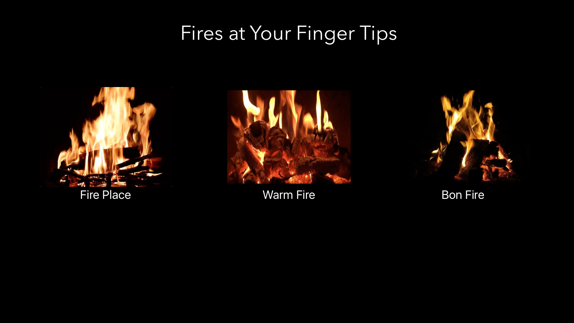 Fire Place Virtual screenshot 1