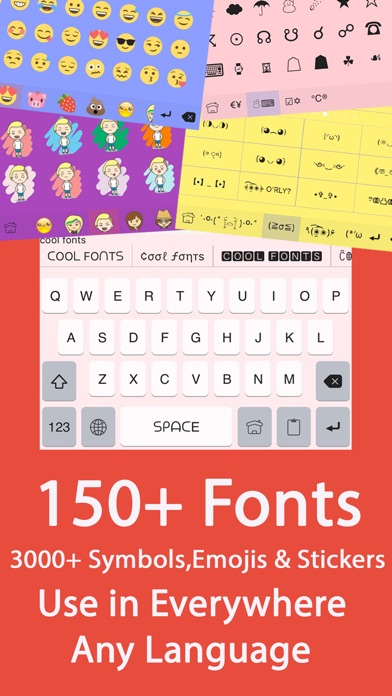keyboard for iphone color fonts keyboard keyboards with cool font amp emoji 4097