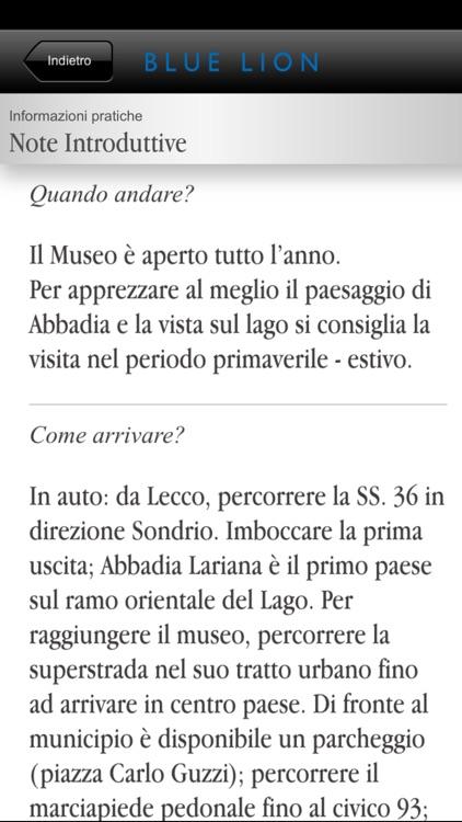 Italia - Museo Setificio Monti di Abbadia Lariana screenshot-4