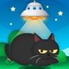 ネコアップDX UFOで猫をつかまえろ! - iPhoneアプリ