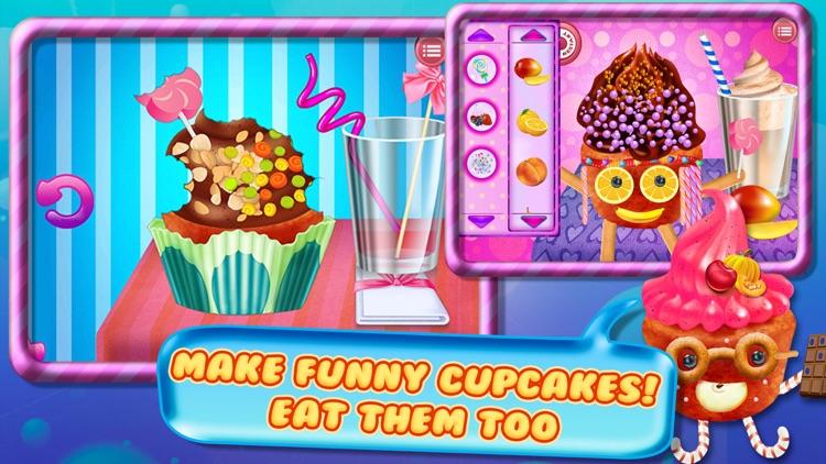 Cupcake Crazy Chef - Make & Decorate Your Own Muffin Cake screenshot-4