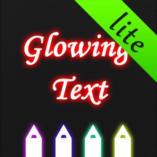 Glowing Text Lite icon