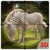 ワイルドゼブラハンターシミュレータ - このジャングルのシミュレーションゲームで狩り動物