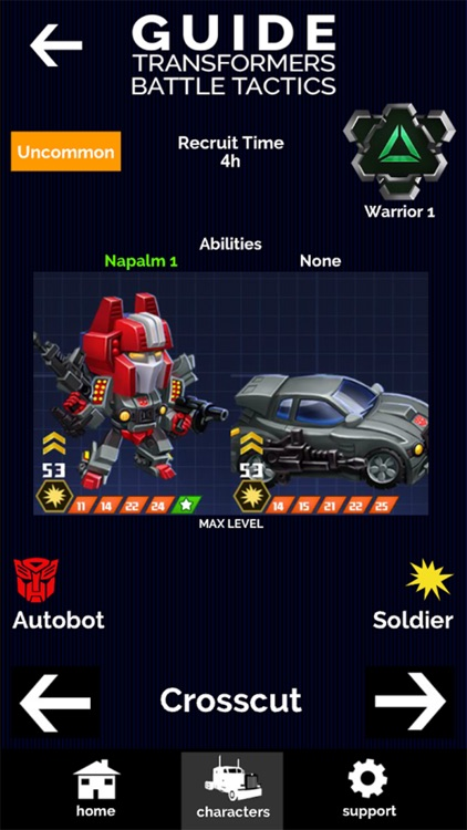 Guide for Transformers Battle Tactics screenshot-3