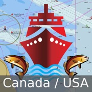 Marine Navigation - Canada - Offline Gps Nautical Charts for Fishing, Sailing and Boating