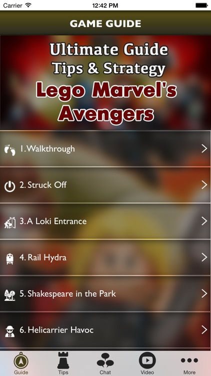 Mega Guide for LEGO Marvel's Avengers screenshot-0