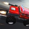 やり過ぎらいこうトラック: 戦闘・ レーシング ゲームを破壊します。