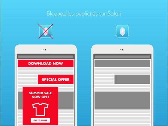 Crystal Adblock – navigation Web sans publicité.