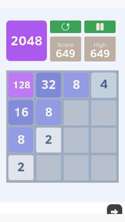 2048 Game of puzzle and math screenshot-3