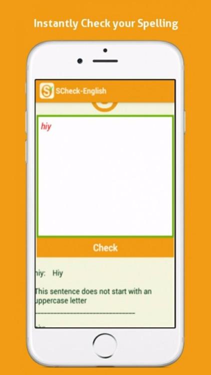 sCheck- Advanced Spell Checker screenshot-3