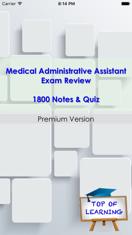 Medical Administrative Assistance Exam Review: 1800 studt notes & Quizzes screenshot-1