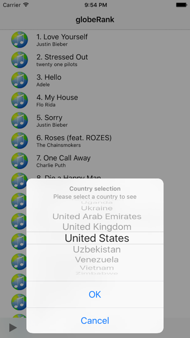 globeRank screenshot two