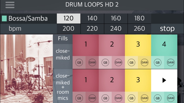 Drum Loops HD 2 screenshot-3