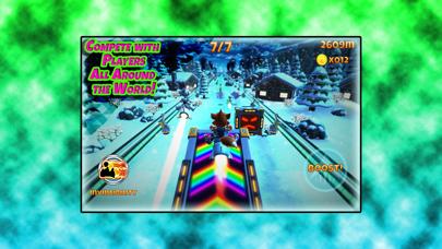 Screenshot from Rocket Racer R