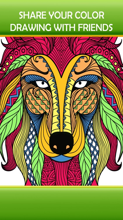 Animal Art Designs - Zen Therapy Adult Coloring Book