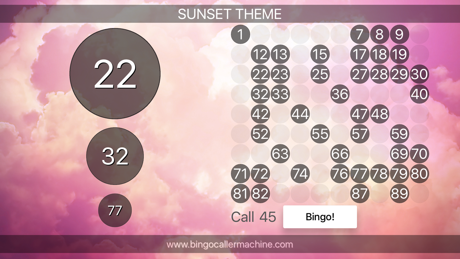 Bingo Caller Machine screenshot 14