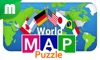 World Map Puzzle for TV