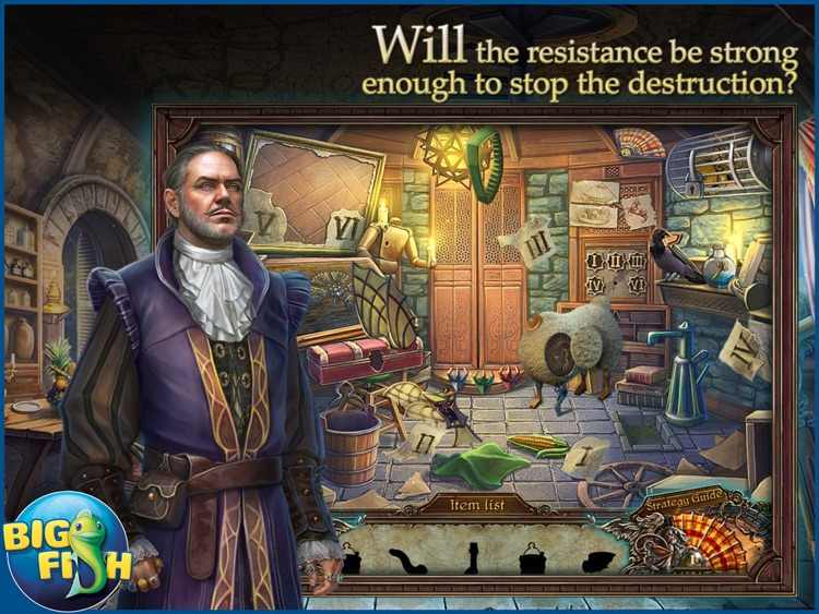 Grim Facade: The Artist and The Pretender HD - A Mystery Hidden Object Game (Full) screenshot-0