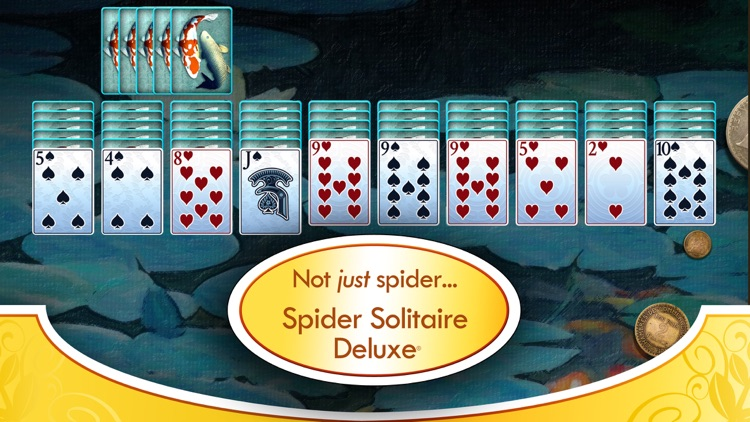 Spider Solitaire Deluxe® screenshot-2