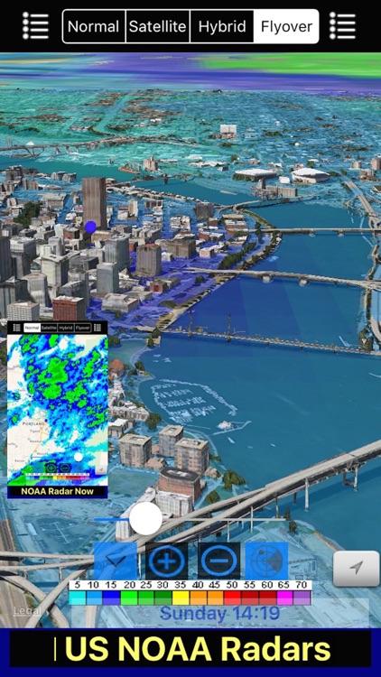 US NOAA Radars 3D screenshot-3