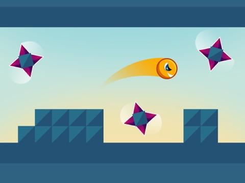 Screenshot #4 for Jumping Genius - Hyper Monster Rush & Swiper Shape Mobile Game
