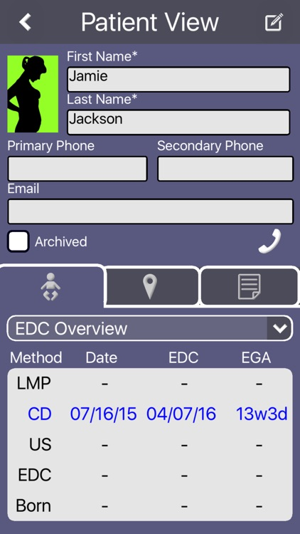 Prenatal Patient Tracker screenshot-1