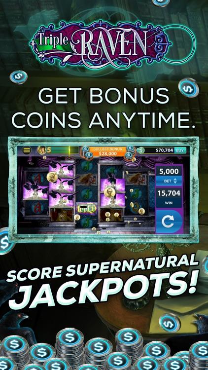 Triple Raven: FREE Vegas Slot Game
